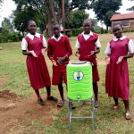 The Water Project: Bukura Primary School -  Hand Washing Station