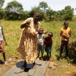 The Water Project: Shivagala Community, Paul Chengoli Spring -  Sanitation Platform