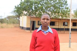 The Water Project:  Caroline Mbula