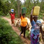 The Water Project: Handidi Community, Matunda Spring -  Clean Water