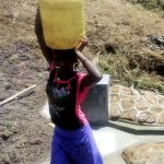 The Water Project: Shivagala Community, Paul Chengoli Spring -  Clean Water