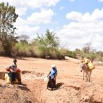 The Water Project: Kasioni Community A -  Scoop Holes