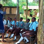 The Water Project: Friends Emanda Secondary School -  Training