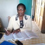 The Water Project: Gidagadi Primary School -  Headteacher Rose Lamka