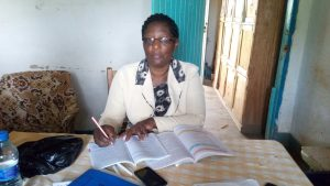 The Water Project:  Headteacher Rose Lamka