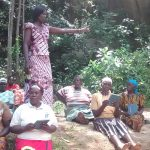 The Water Project: Lugango Community, Lugango Spring -  Training