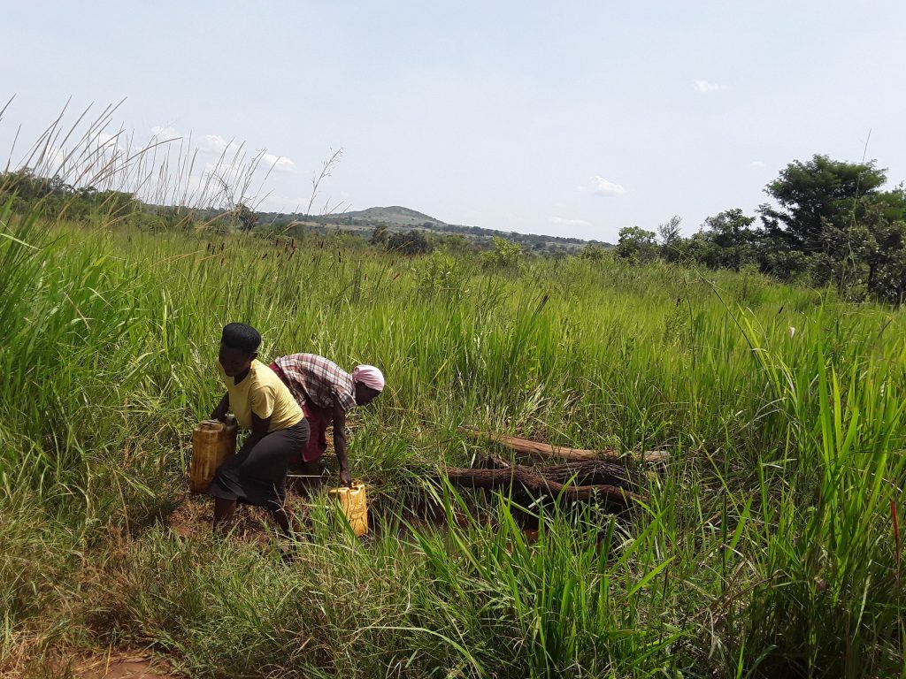 The Water Project : 3-uganda6081-fetching-water