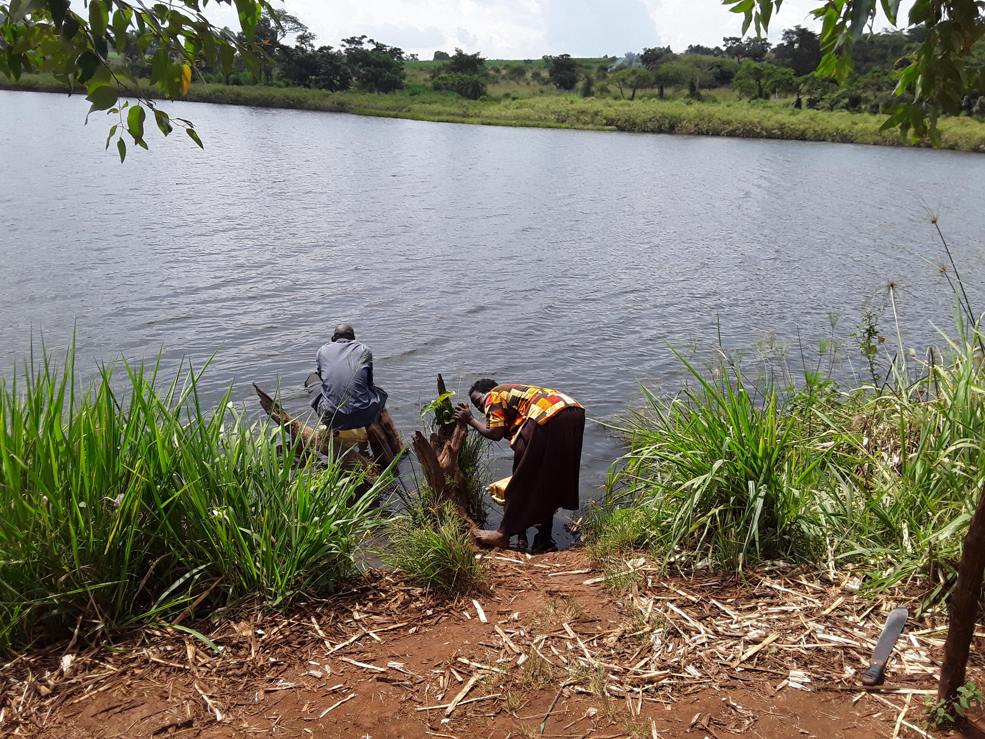 The Water Project : 3-uganda6082-current-water-source