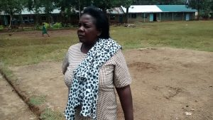 The Water Project:  Headteacher Esther Asitiba