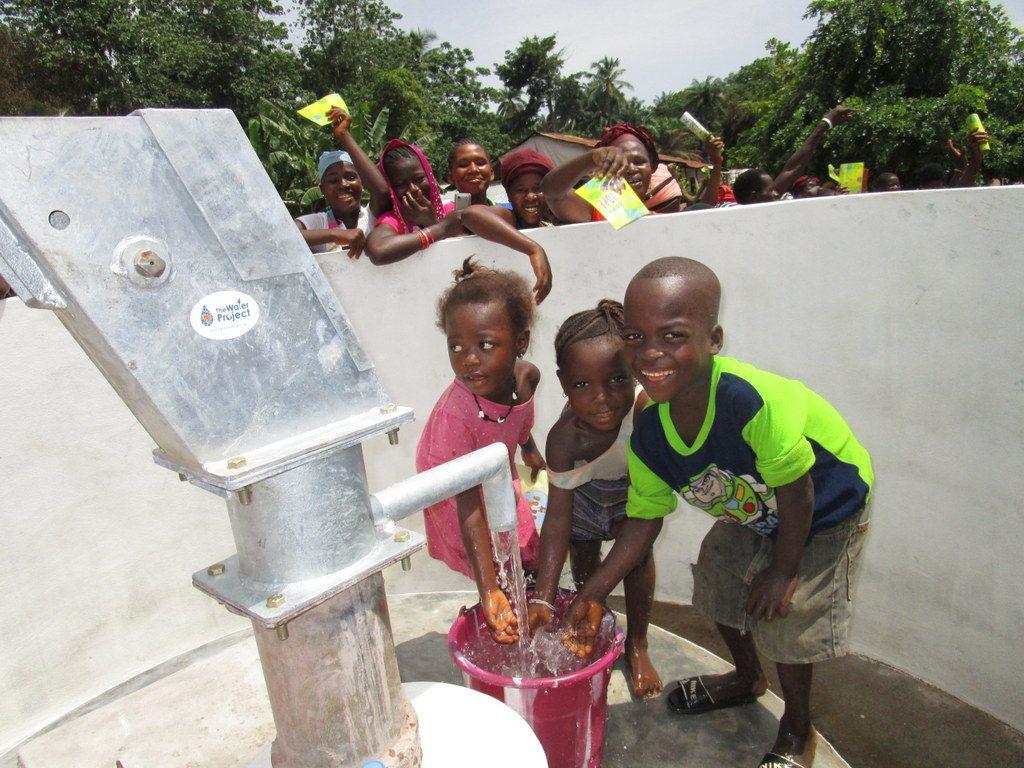 The Water Project : 31-sierraleone5120-clean-water-celebration