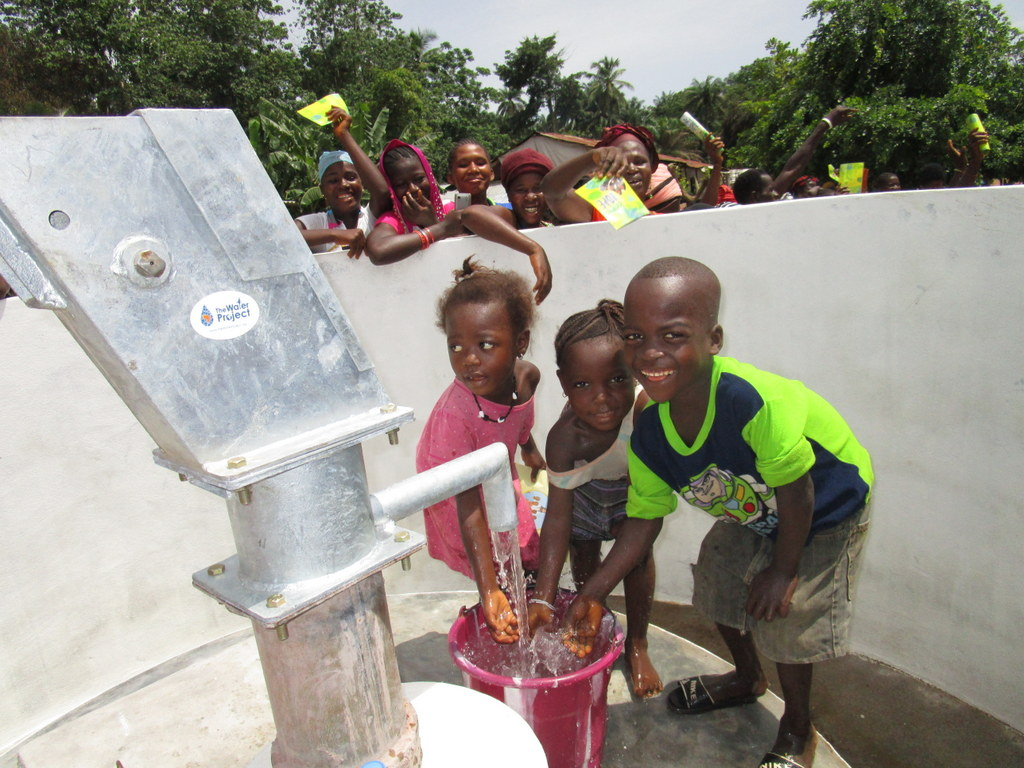 The Water Project : 31-sierraleone5120-clean-water-celebration