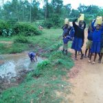 The Water Project: Iyenga Primary School -  Fetching Water