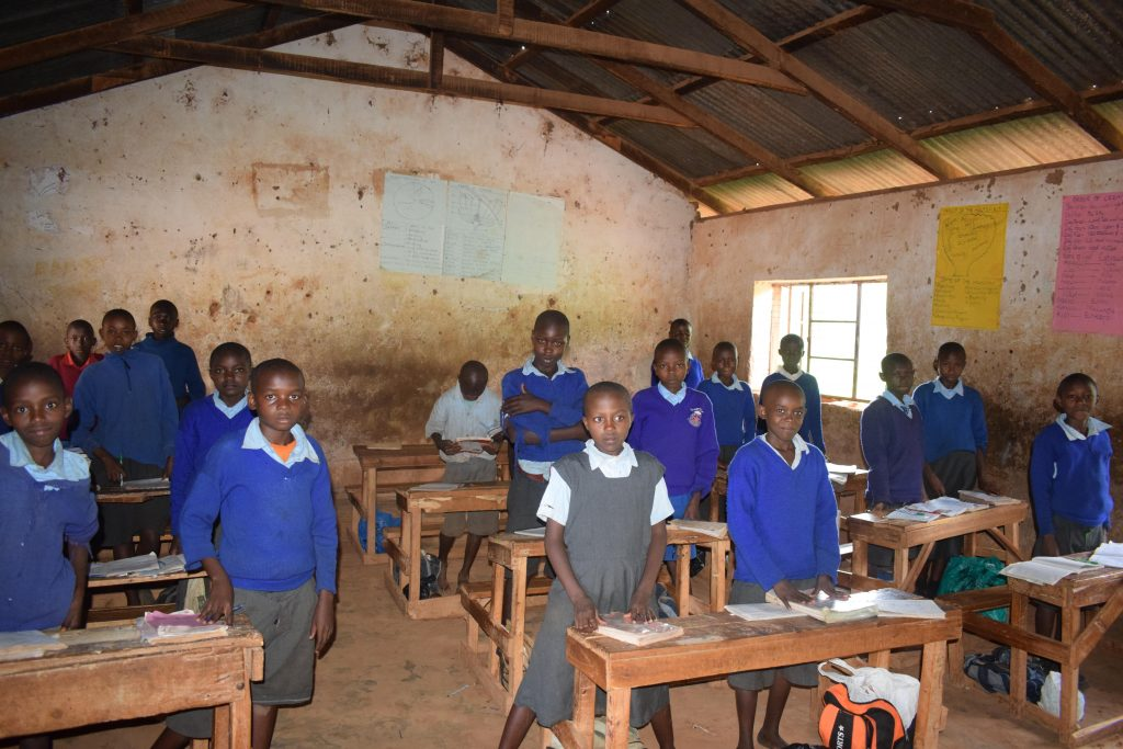 The Water Project : 4-kenya4799-students-in-class
