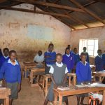The Water Project: Kyanzasu Primary School -  Students In Class