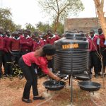 The Water Project: Uvaani Secondary School -  Hand Washing Training