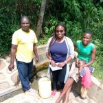 See the Impact of Clean Water - A Year Later: Peter Indeche spring