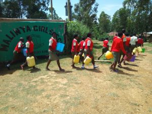 The Water Project:  Leaving To Fetch Water