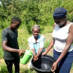 The Water Project: Handidi Community, Matunda Spring -  Hand Washing
