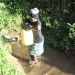 The Water Project: Emusanda Community A -  Carrying Water