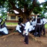 The Water Project: Mwitoti Secondary School -  Students Relax During Break