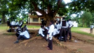 The Water Project:  Students Relax During Break