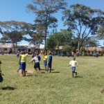 The Water Project: Gidagadi Primary School -  Students Playing