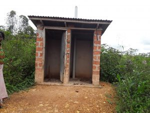 The Water Project:  Various Latrine Conditions