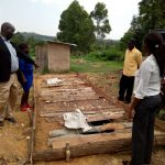 The Water Project: Musunji Primary School -  Latrine Pit