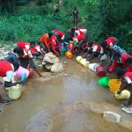 The Water Project: Malinya Girls Secondary School -  Fetching Water