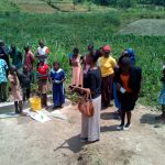 The Water Project: Mukhuyu Community, Shikhanga Spring -  Onsite Training