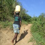 The Water Project: Emusanda Community A -  Climbing The Hill From The Spring