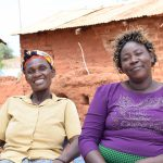 The Water Project: Nzalae Community A -  Tabitha And Agnes