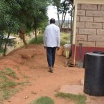 The Water Project: Kasioni Community A -  Makau Household