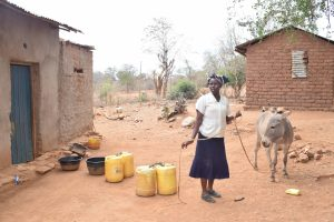 The Water Project:  Unloading The Donkey
