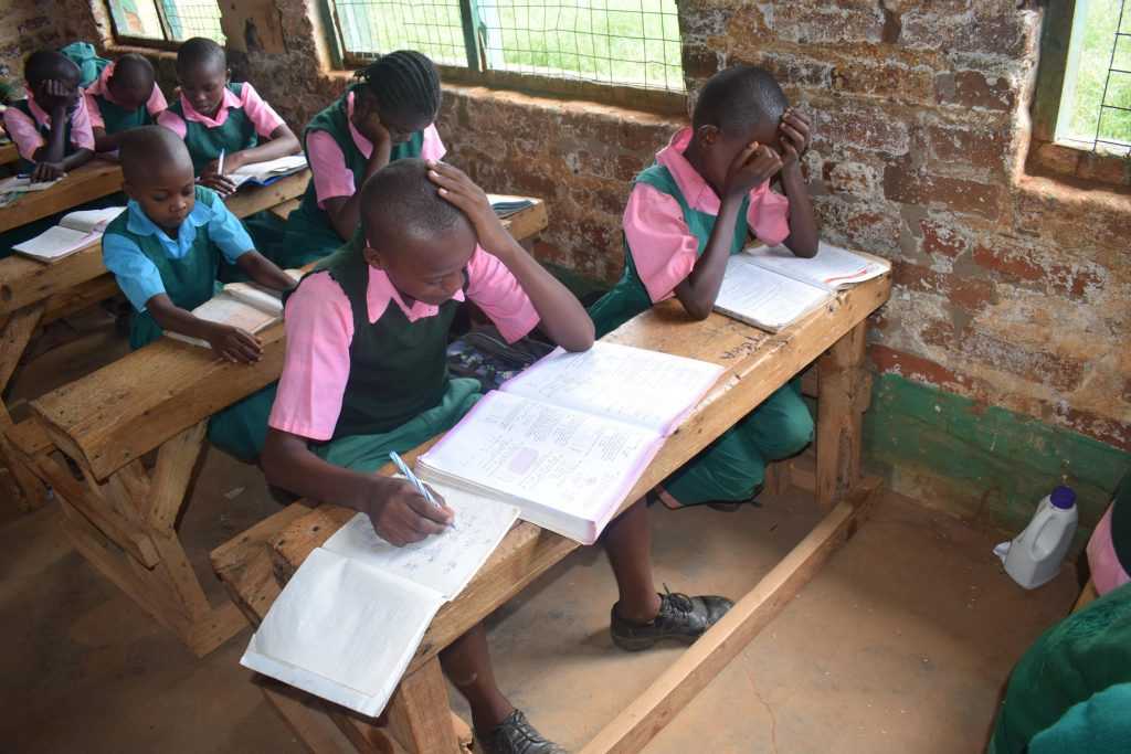 The Water Project : 6-kenya4796-students-in-class