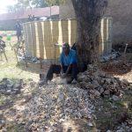 The Water Project: Bukura Primary School -  Breaking Stones For Construction