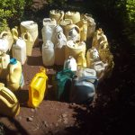 The Water Project: Gidagadi Primary School -  Water Containers