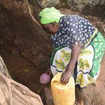 The Water Project: Kyumbe Community -  Fetching Water