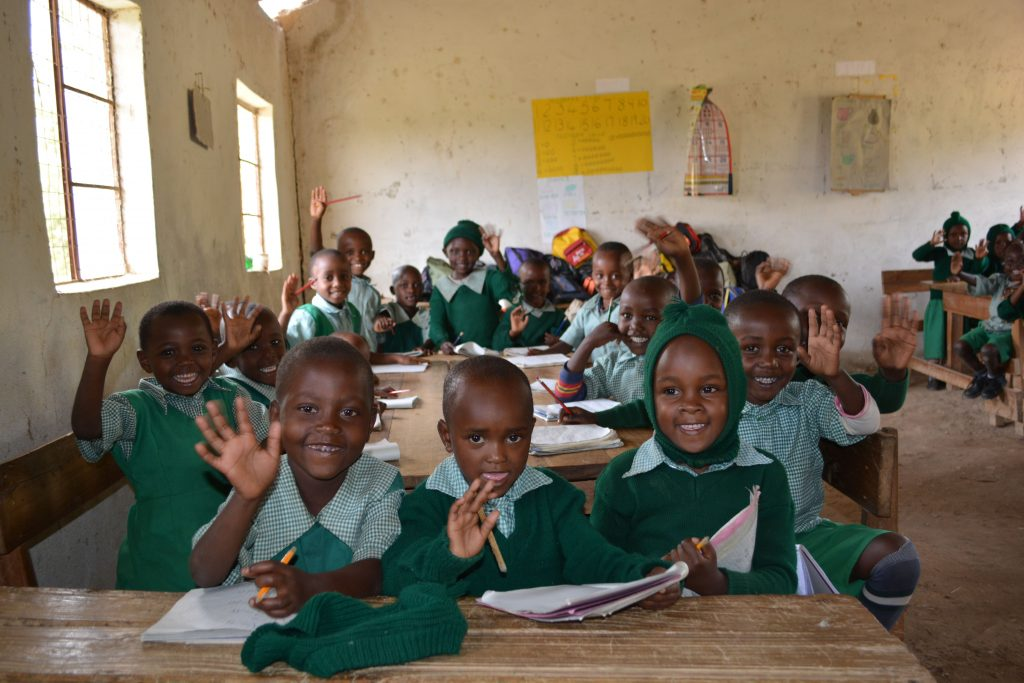 The Water Project : 6-kenya4872-students
