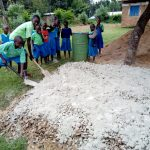 The Water Project: Musunji Primary School -  Gravel