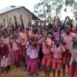 The Water Project: Irenji Primary School -  Students Excited About The Project