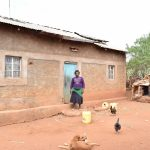 The Water Project : 7-kenya4767-agnes-mwende-homestead