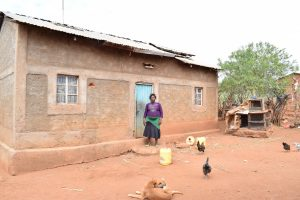 The Water Project:  Agnes Mwende Homestead