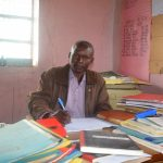 The Water Project: Kwa Kaleli Primary School -  Headteacher Bernard Wambua