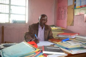 The Water Project:  Headteacher Bernard Wambua
