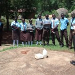 The Water Project: Friends Emanda Secondary School -  Solar Disinfection