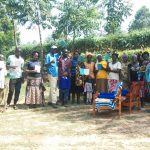 The Water Project: Shikoti Community B -  Group Picture After Training