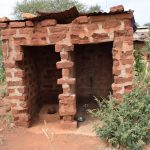 The Water Project : 8-kenya4767-agnes-latrine