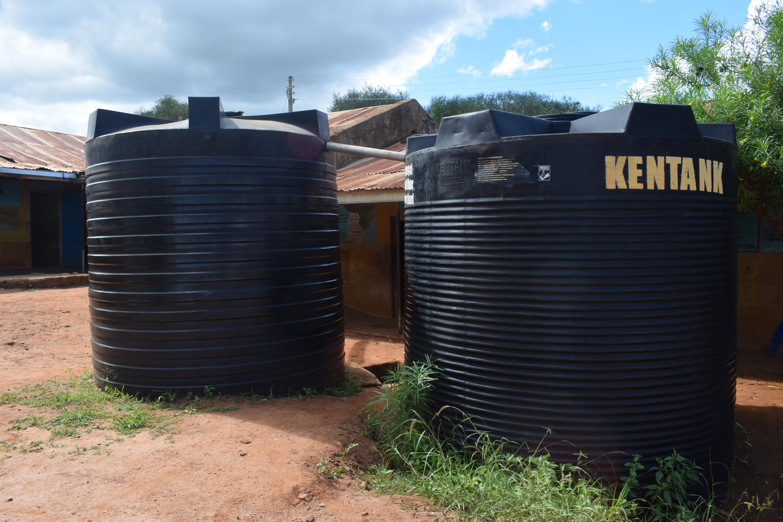 The Water Project Kenya Kyanzasu Primary School