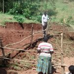 The Water Project: Lugango Community, Lugango Spring -  Training On Spring Maintenance